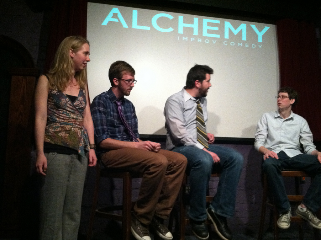 April 27: Night of Improv Games & Local Legends with Stories with ...